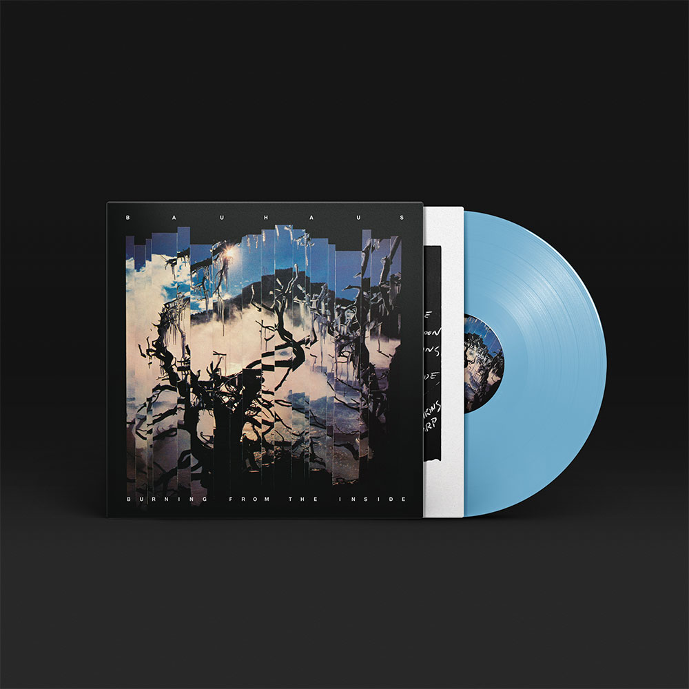 Array - Burning From The Inside - Blue Vinyl