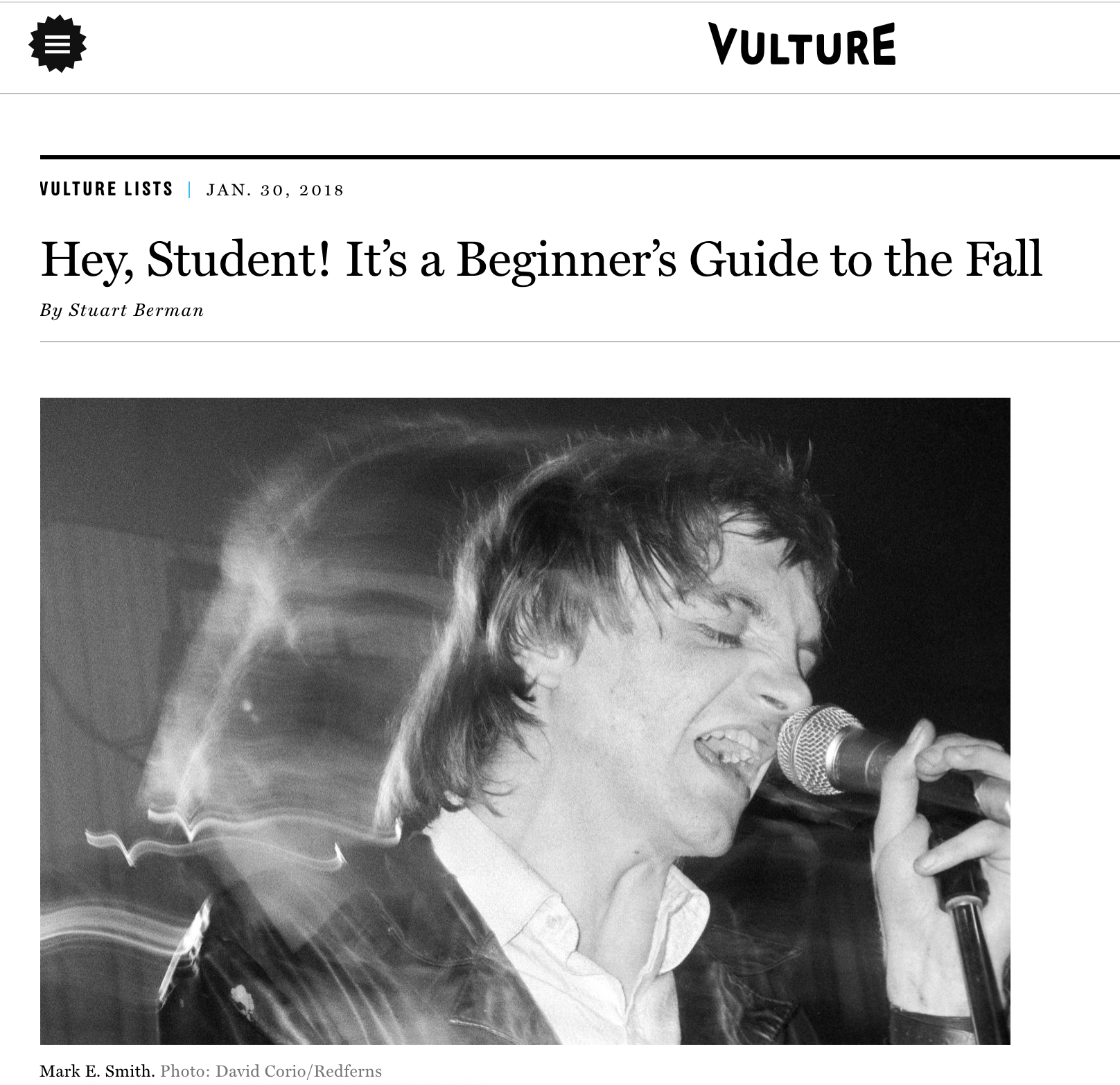 Hey, Student! It's a Beginner's Guide to the Fall